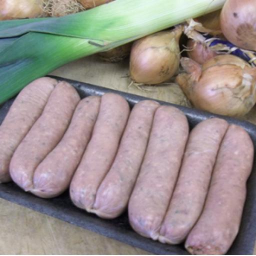 Finest Lamb & Leek Sausage