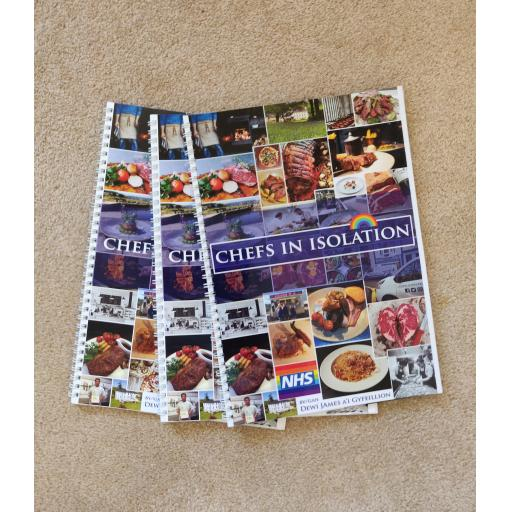 Chefs in Isolation *CHARITY COOK BOOK*