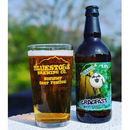 Bluestone Brewery Bedrock Cragfast
